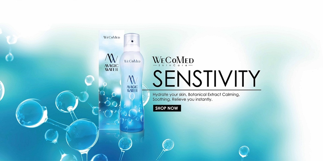 Shop Sensitive Skin Care Online at WeCoMed Malaysia & Singapore